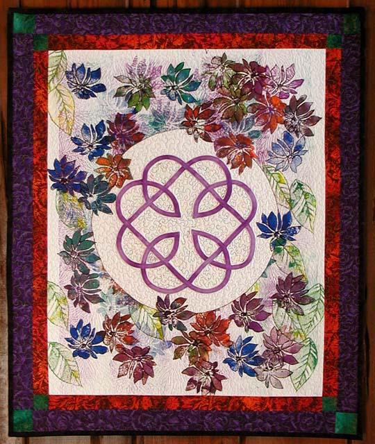 Celtic Flowers Quilt